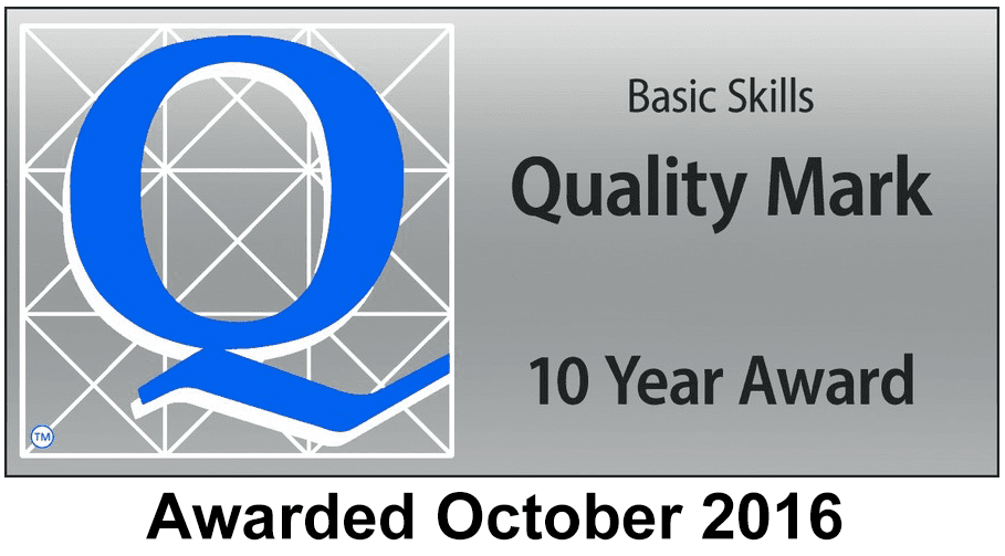 Quality Mark 10 Year Award