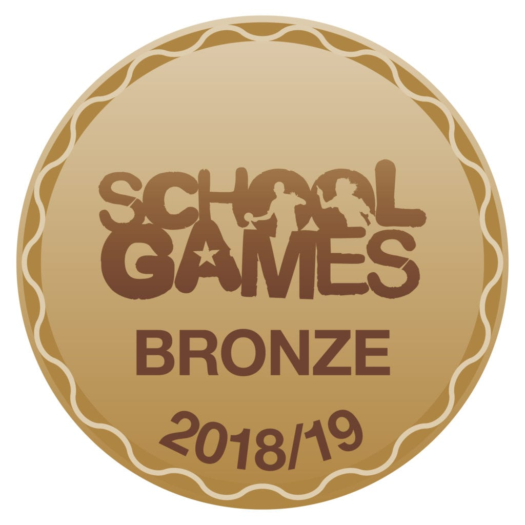 School Games Bronze 18/19